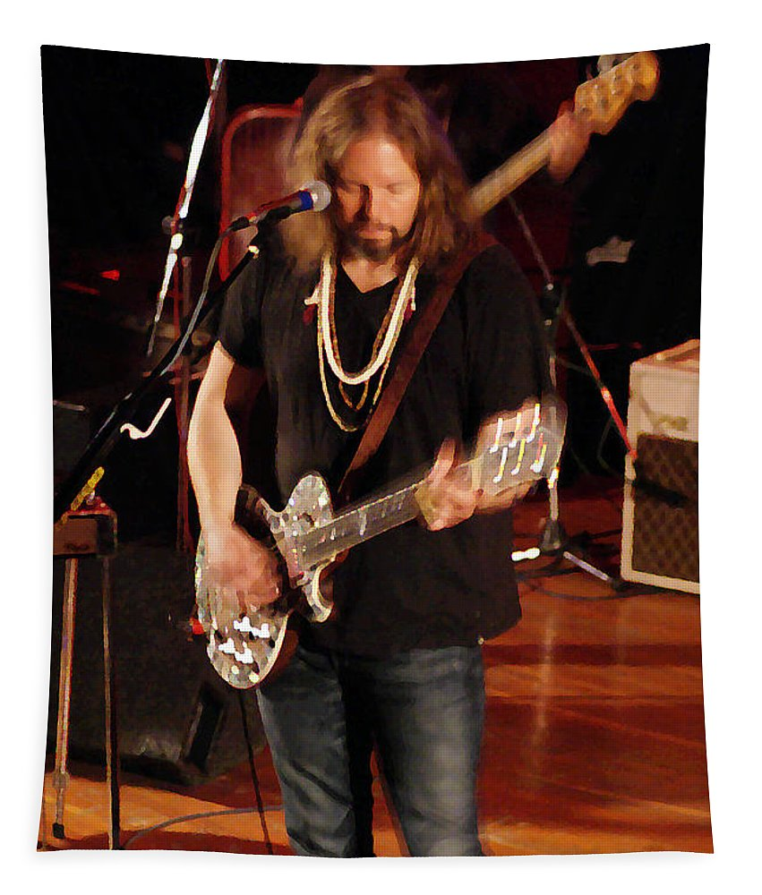 Rich Robinson Tapestry featuring the photograph Rrb #27 Enhanced Image by Ben Upham
