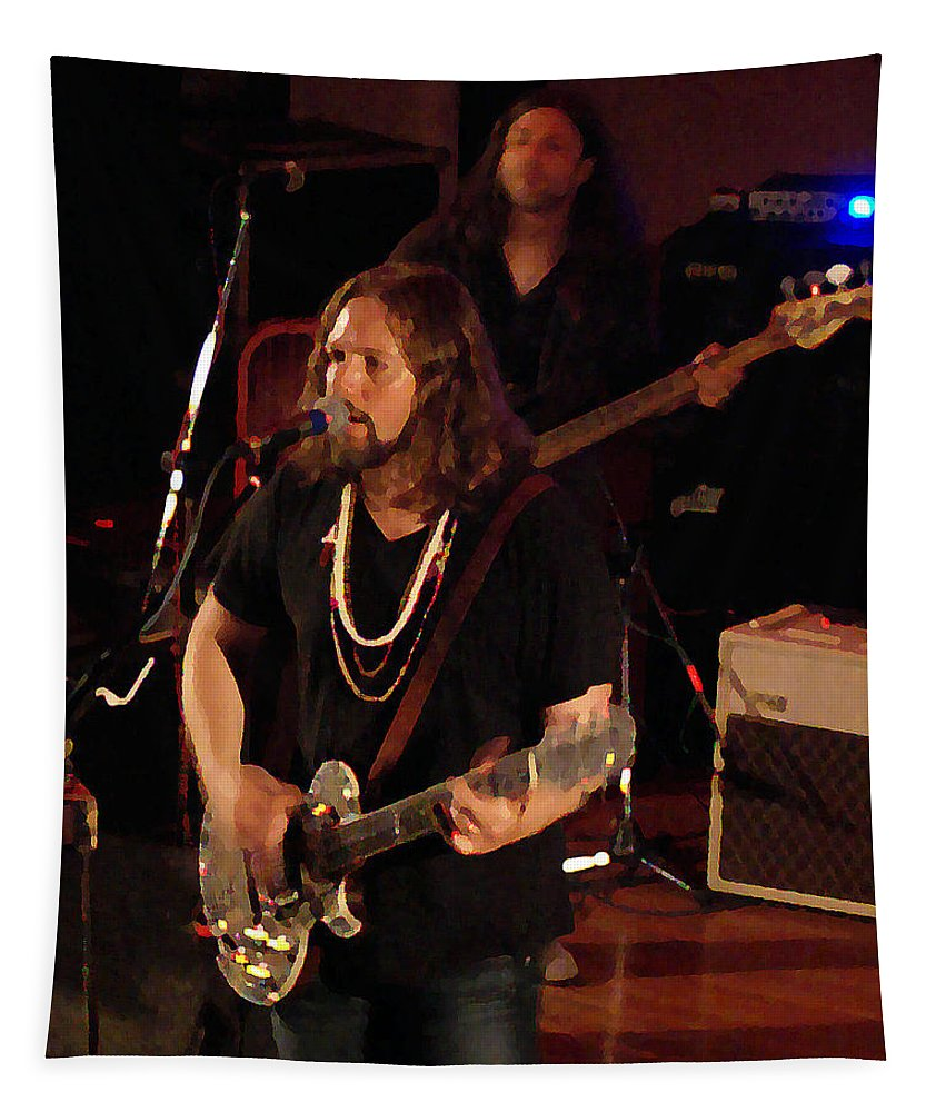 Rich Robinson Tapestry featuring the photograph Rrb #38 Crop 2 Enhanced Image by Ben Upham