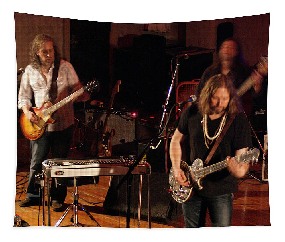 Rich Robinson Tapestry featuring the photograph Rrb #40 by Ben Upham