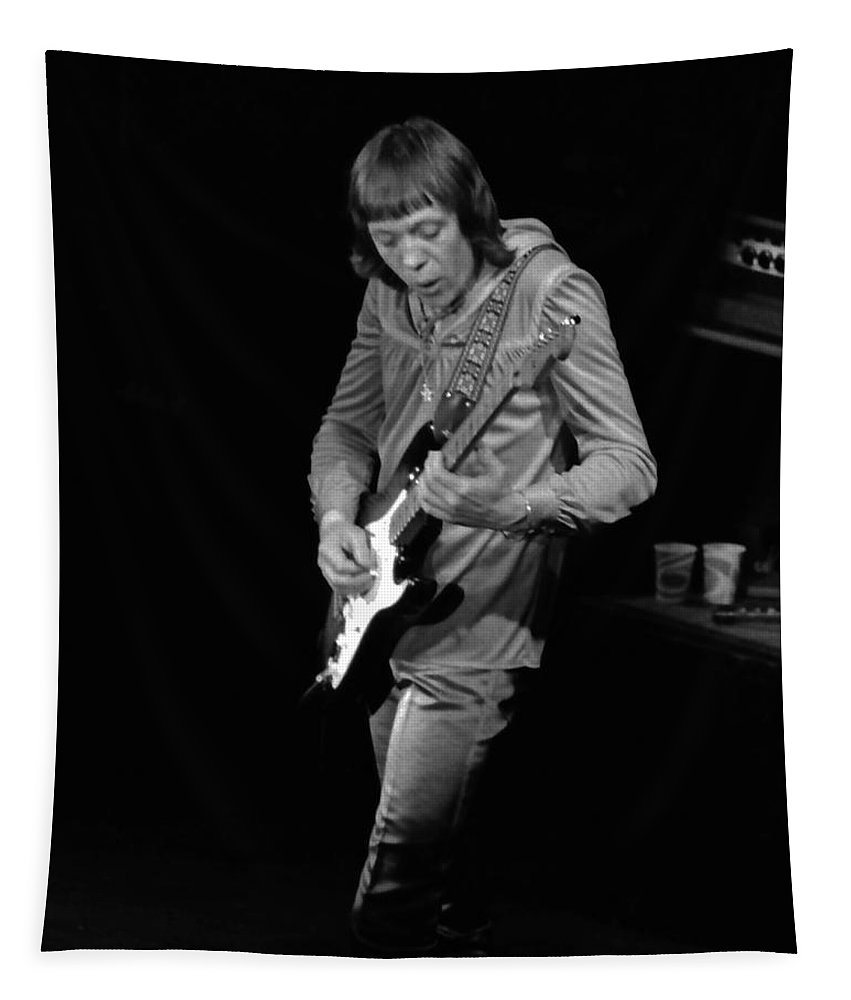 Robin Trower Tapestry featuring the photograph Rt #17 Crop 2 by Ben Upham
