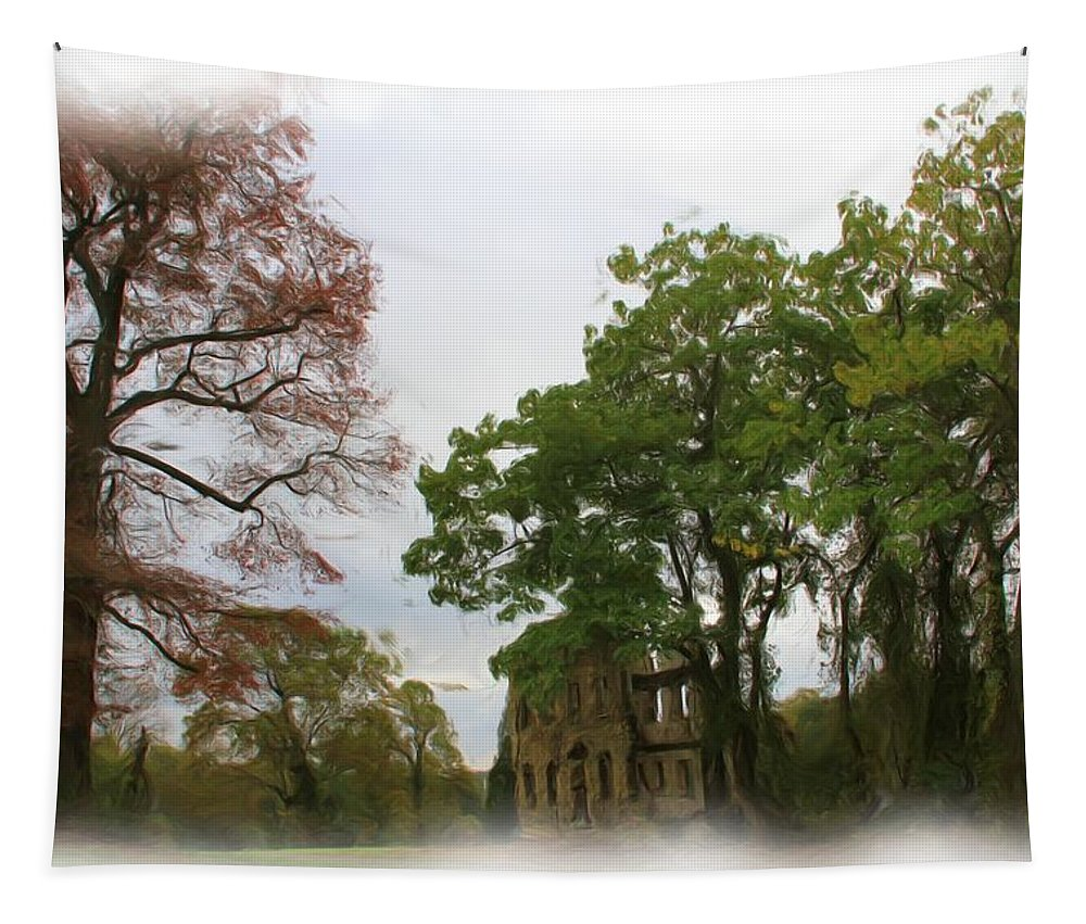 Ruins Tapestry featuring the photograph Ruins by Alice Gipson