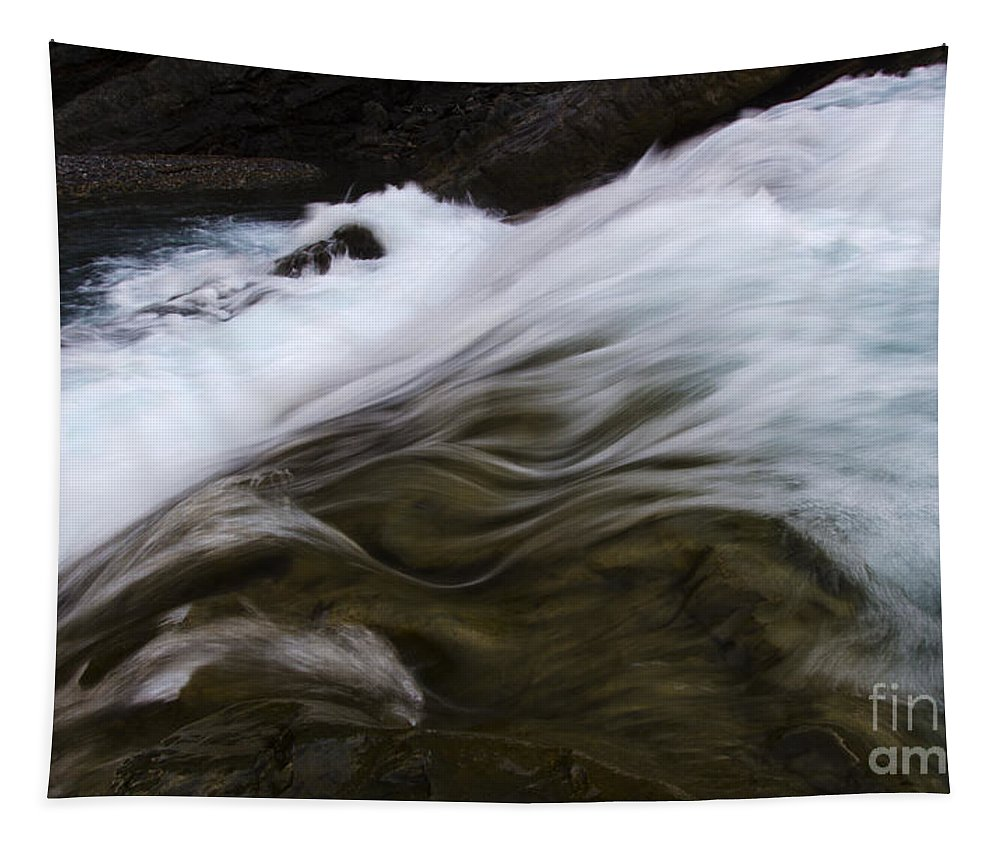 River Tapestry featuring the photograph Run River Run 1 by Bob Christopher