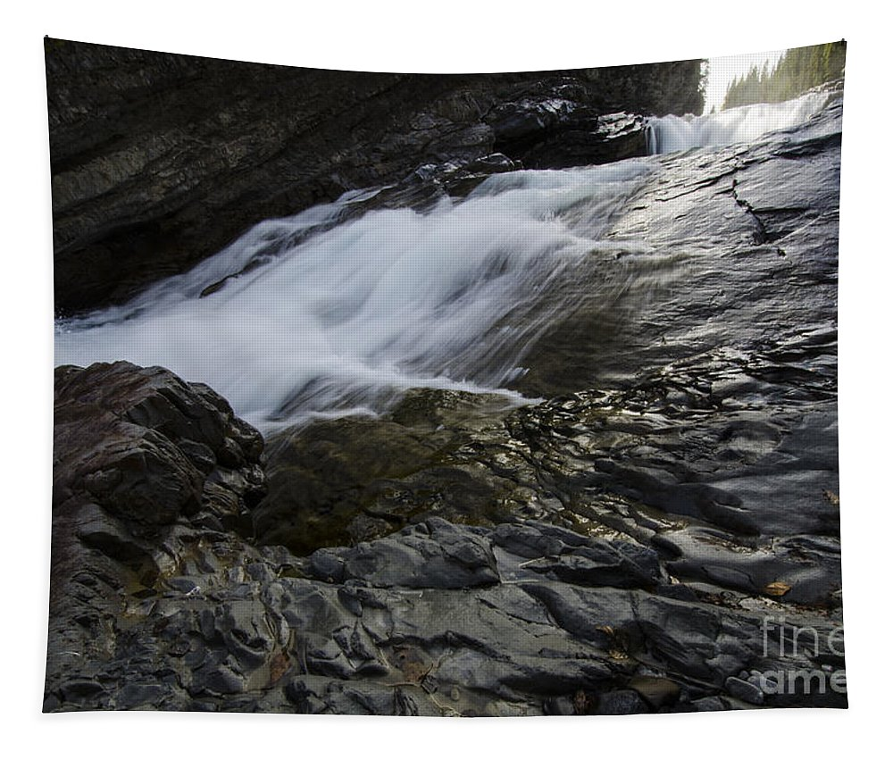 River Tapestry featuring the photograph Run River Run 2 by Bob Christopher