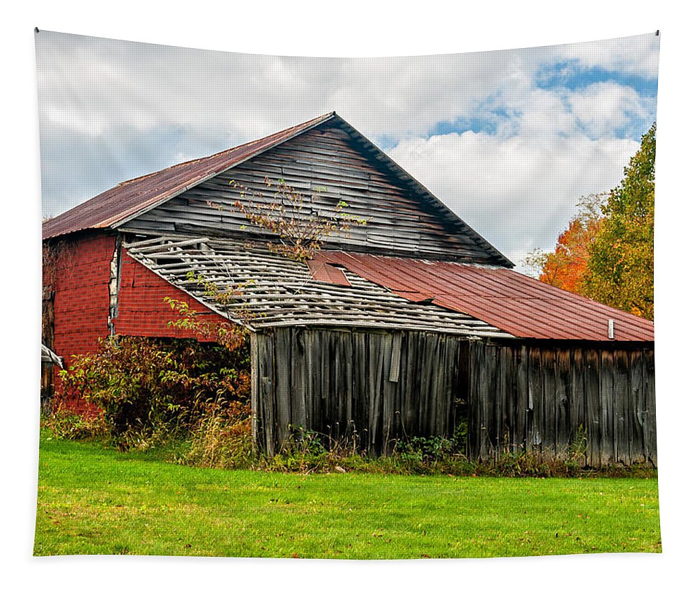 West Virginia Tapestry featuring the photograph Rustic Charm by Steve Harrington