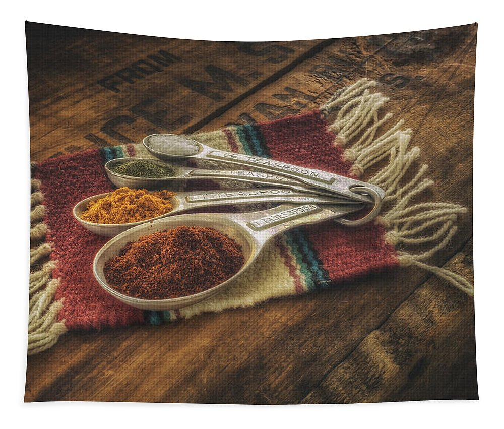 Spice Tapestry featuring the photograph Rustic Spices by Scott Norris