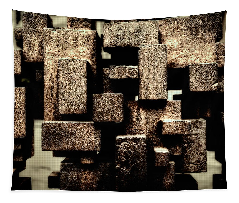 London Tapestry featuring the photograph Rusty Art by Joan Carroll