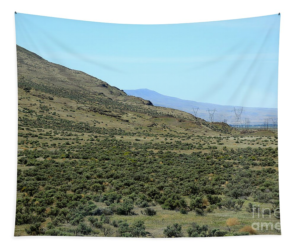 Sagebrush Tapestry featuring the photograph Sagebrush Country by Carol Groenen