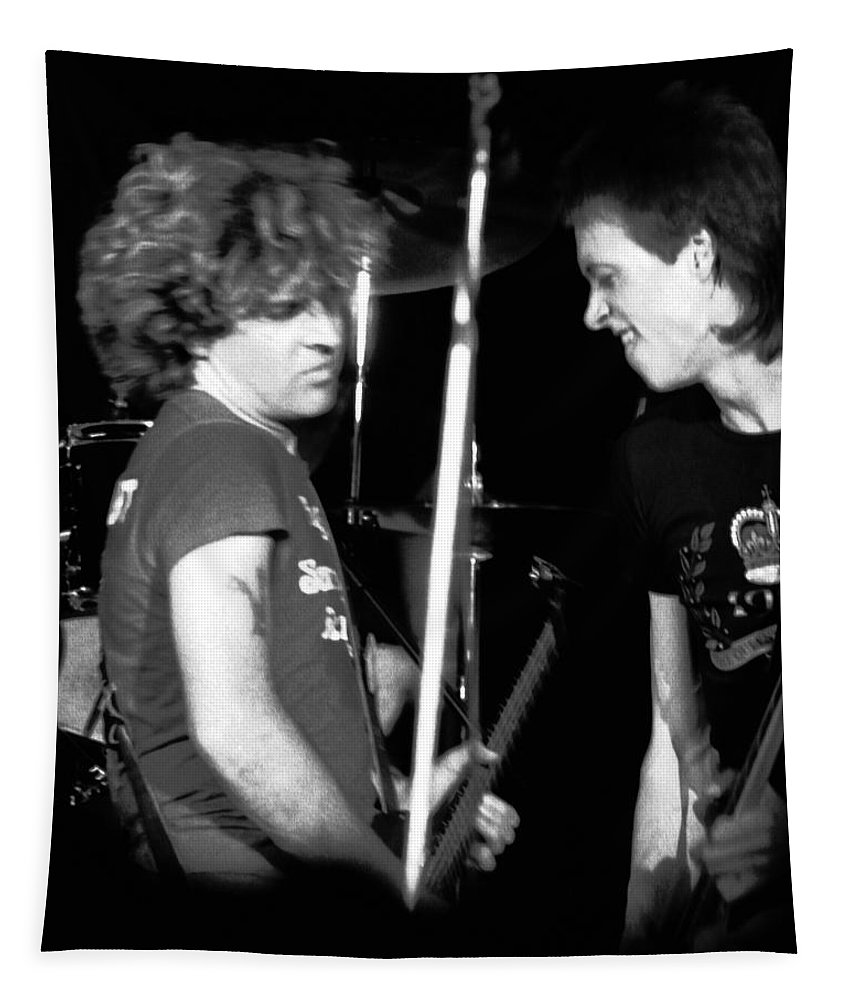 Gary Pihl Tapestry featuring the photograph Sammy And Gary by Ben Upham