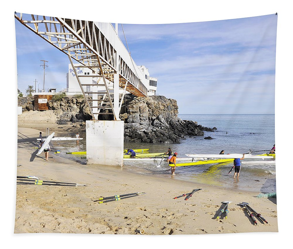 San Felipe Tapestry featuring the photograph San Felipe by Wendy Elliott