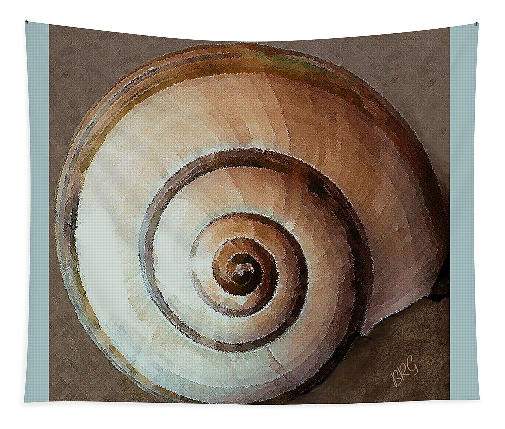Seashell Tapestry featuring the photograph Seashells Spectacular No 34 by Ben and Raisa Gertsberg