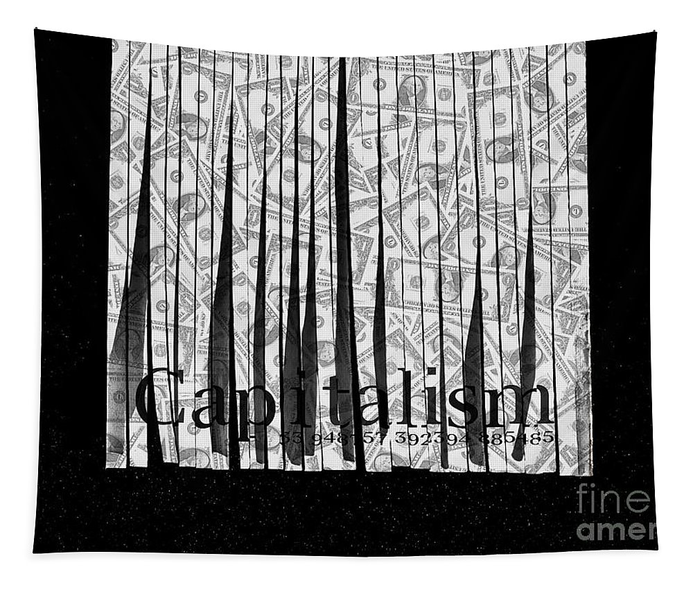 Corruption Tapestry featuring the photograph Crony Marx Capitalism by Jorgo Photography - Wall Art Gallery