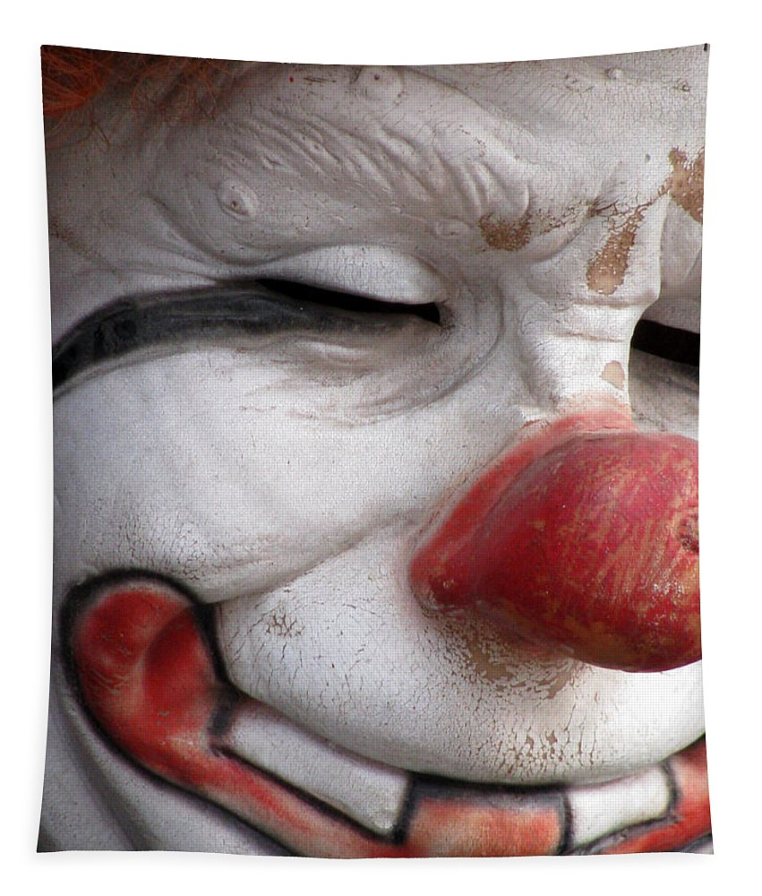 Clown Tapestry featuring the photograph Send In The Clown by Pamela Critchlow