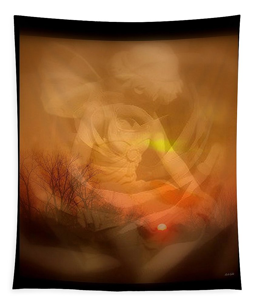 Angel Tapestry featuring the photograph Sentinel by Linda Galok