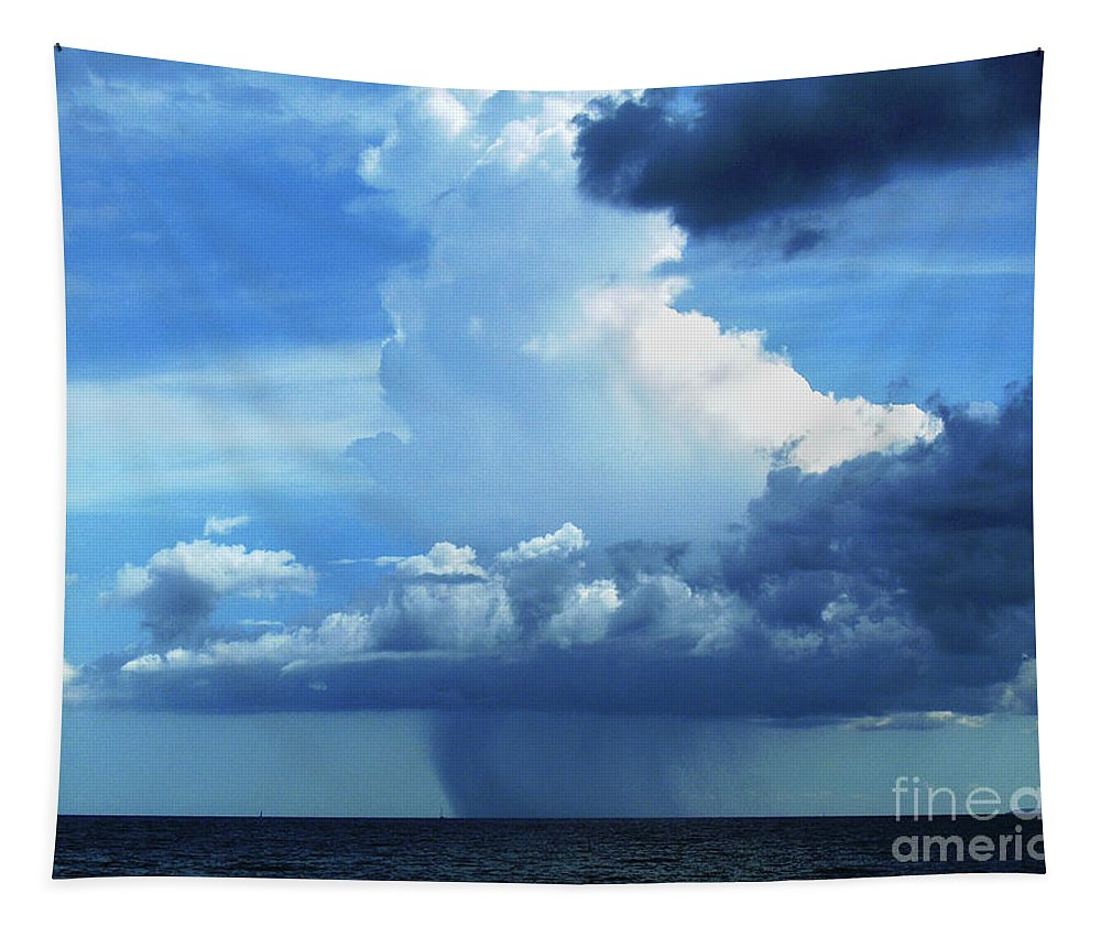 Nina Stavlund Tapestry featuring the photograph Sky Magic... by Nina Stavlund