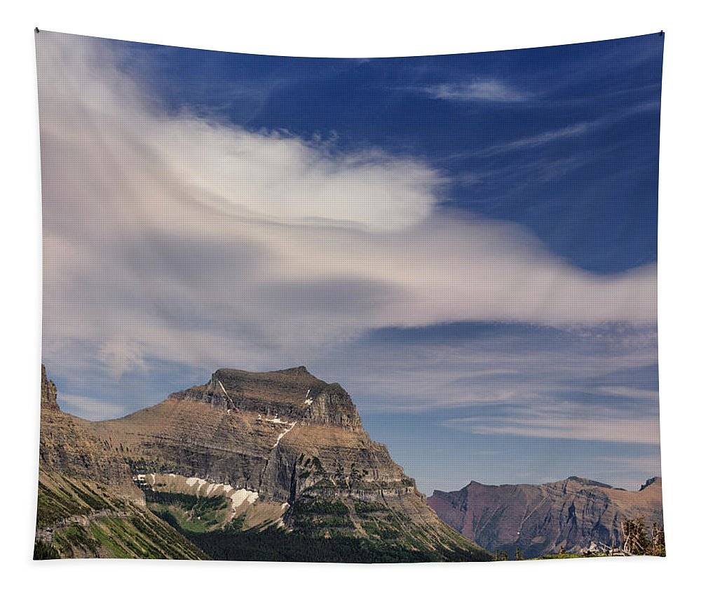 Fine Art Photography Tapestry featuring the photograph Sky Sweep by Kathleen Bishop