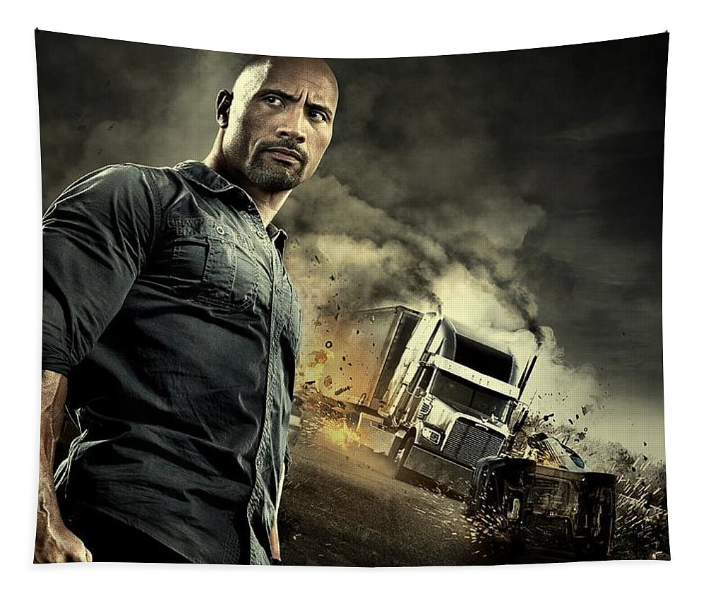 Snitch Tapestry featuring the photograph Snitch Dwayne Johnson by Movie Poster Prints
