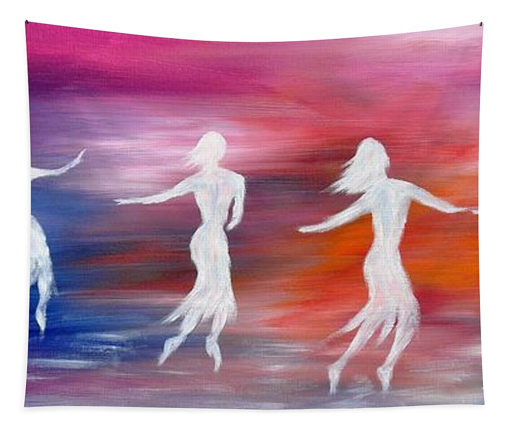 Sould Dance Tapestry featuring the photograph Soul Dance by Marianna Mills