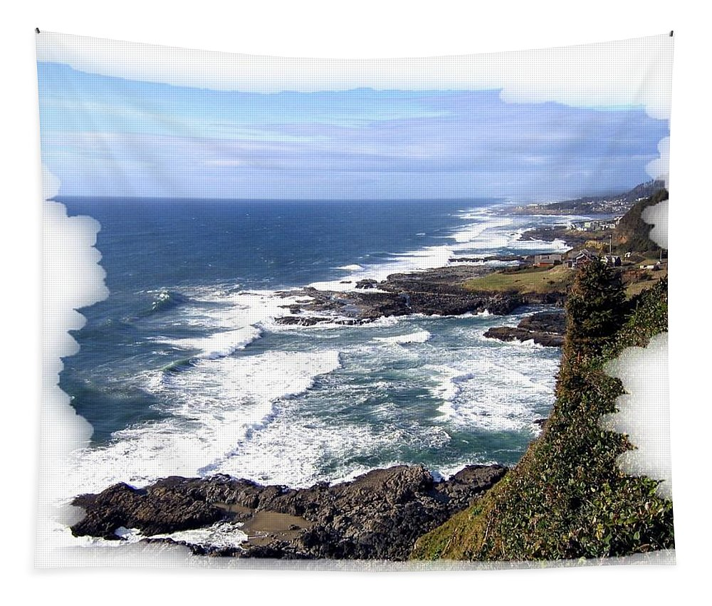 Spectacular Oregon Tapestry featuring the photograph Spectacular Oregon by Will Borden