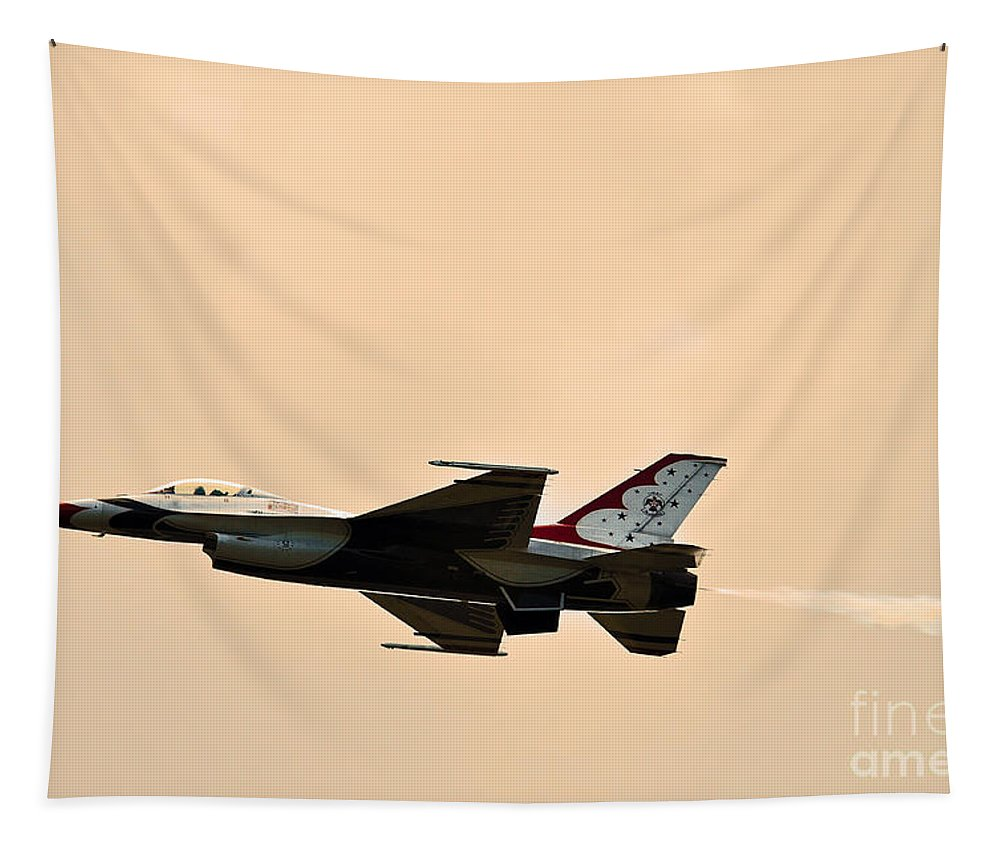Eagle Aircraft Tapestry featuring the photograph Speed Of Light by Davids Digits