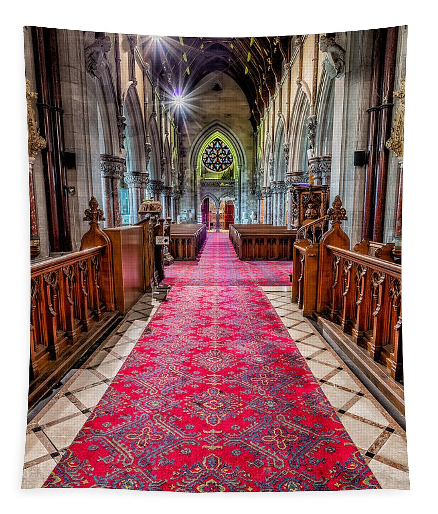 Chapel Tapestry featuring the photograph Spirit Of Light by Adrian Evans