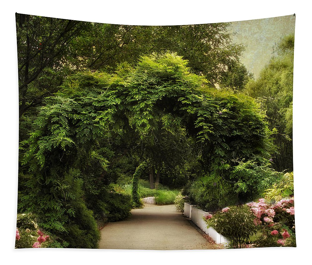 Nature Tapestry featuring the photograph Spring Canopy by Jessica Jenney