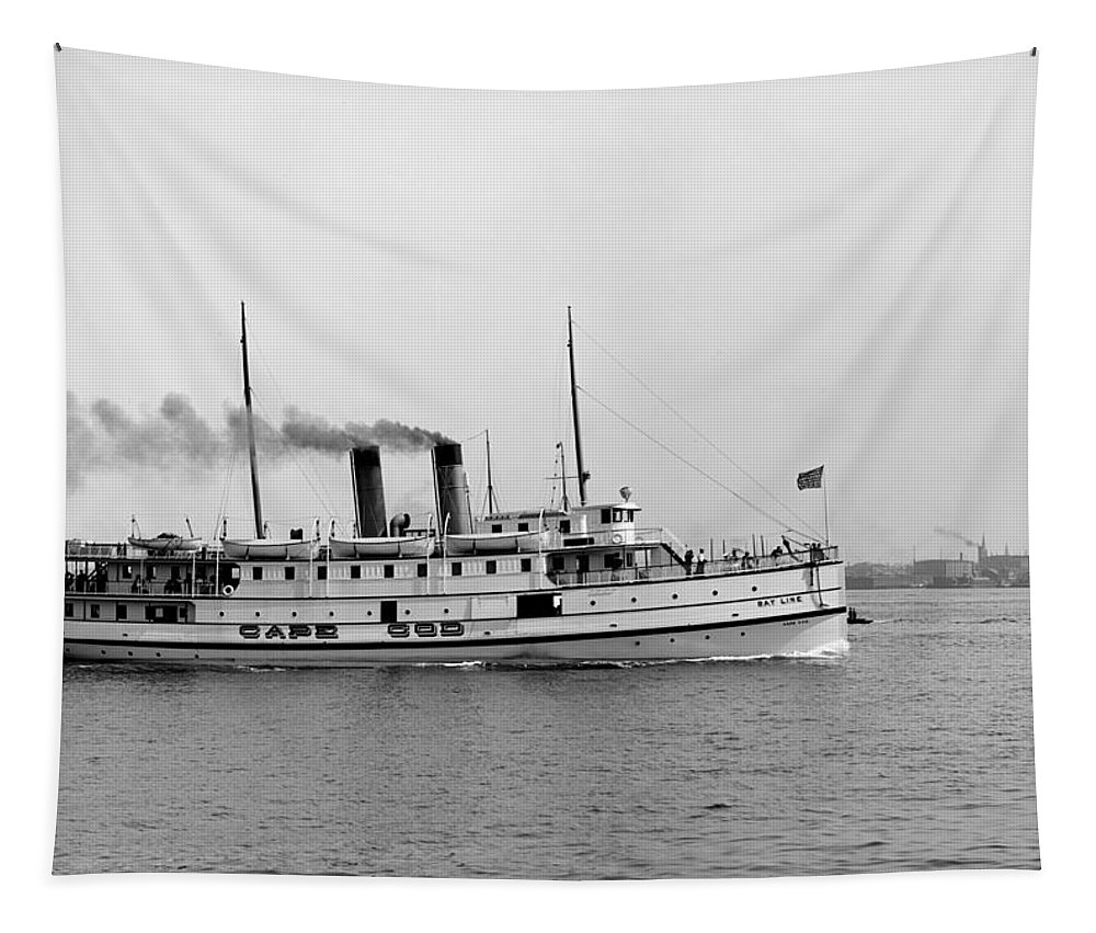Ss Tapestry featuring the photograph Ss Cape Cod by Bill Cannon