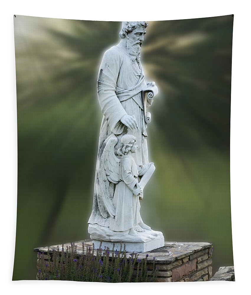 Statue Tapestry featuring the photograph Statue 20 by Thomas Woolworth