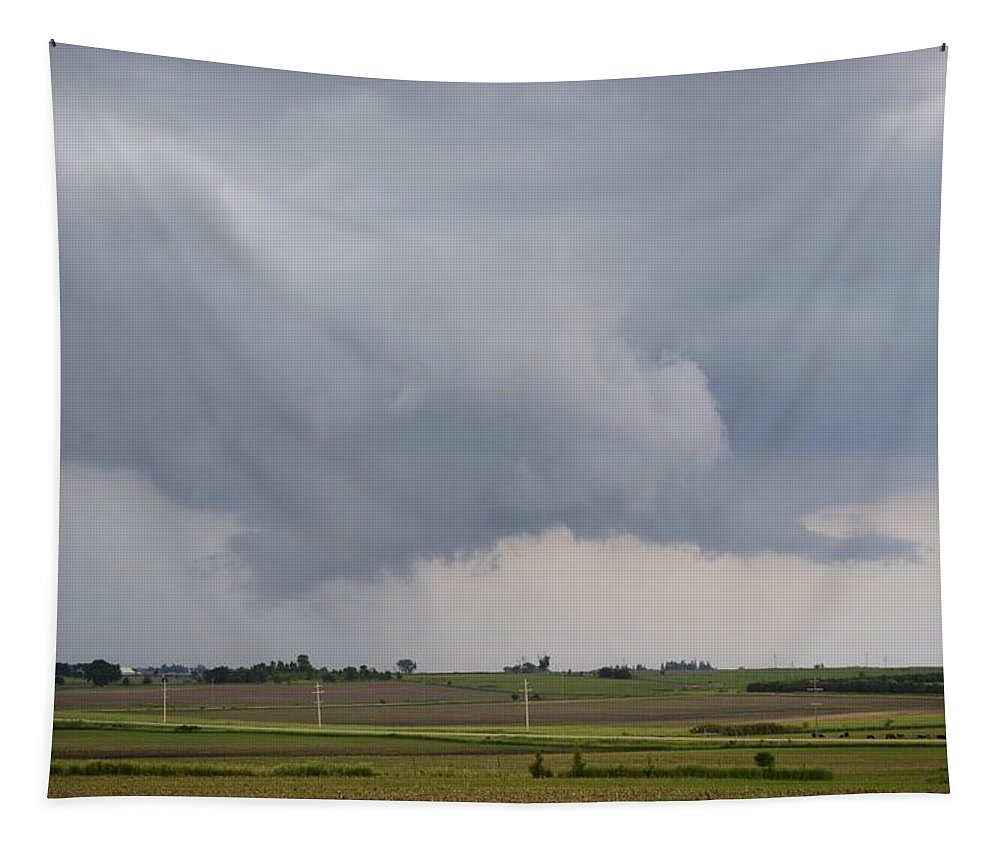 Storm Tapestry featuring the photograph Storm Prologue by Bonfire Photography