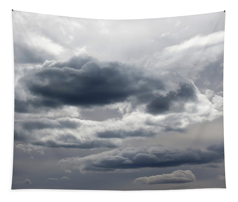 Storm Tapestry featuring the photograph Stormy Day by Laurel Powell