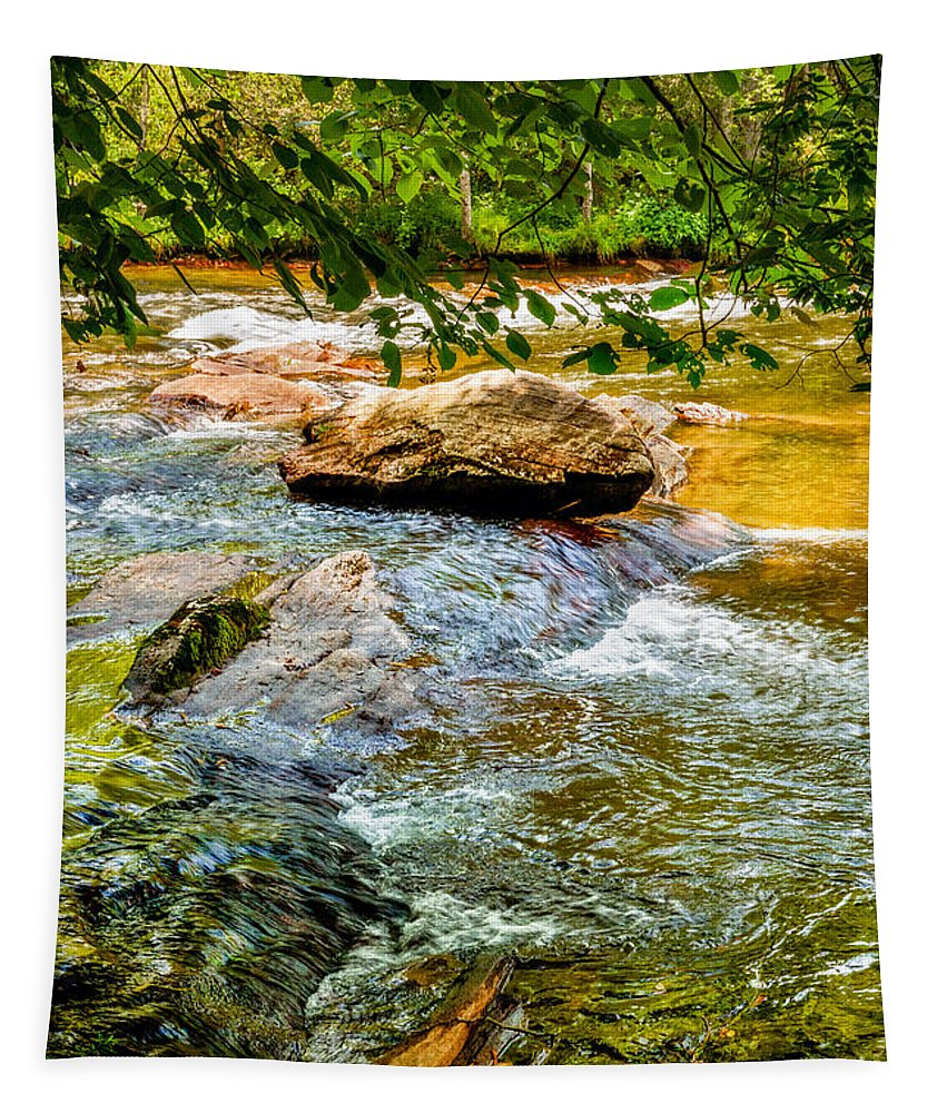 Christopher Holmes Photography Tapestry featuring the photograph Stream II by Christopher Holmes