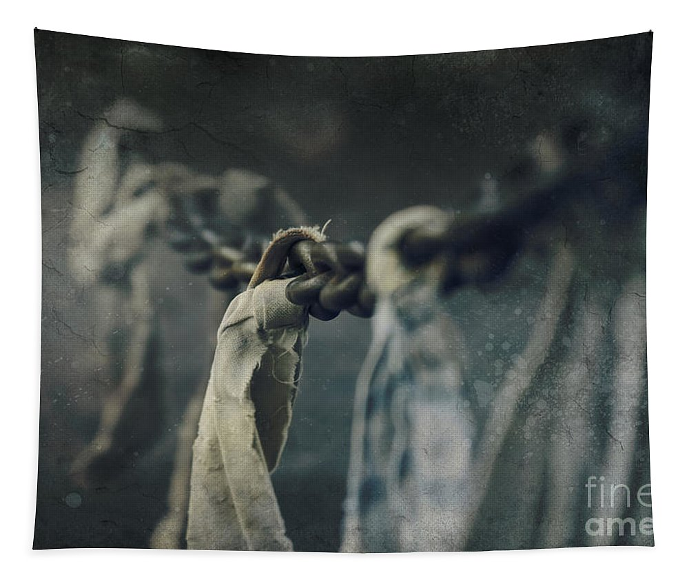 Strength Tapestry featuring the photograph Strength by Sharon Mau