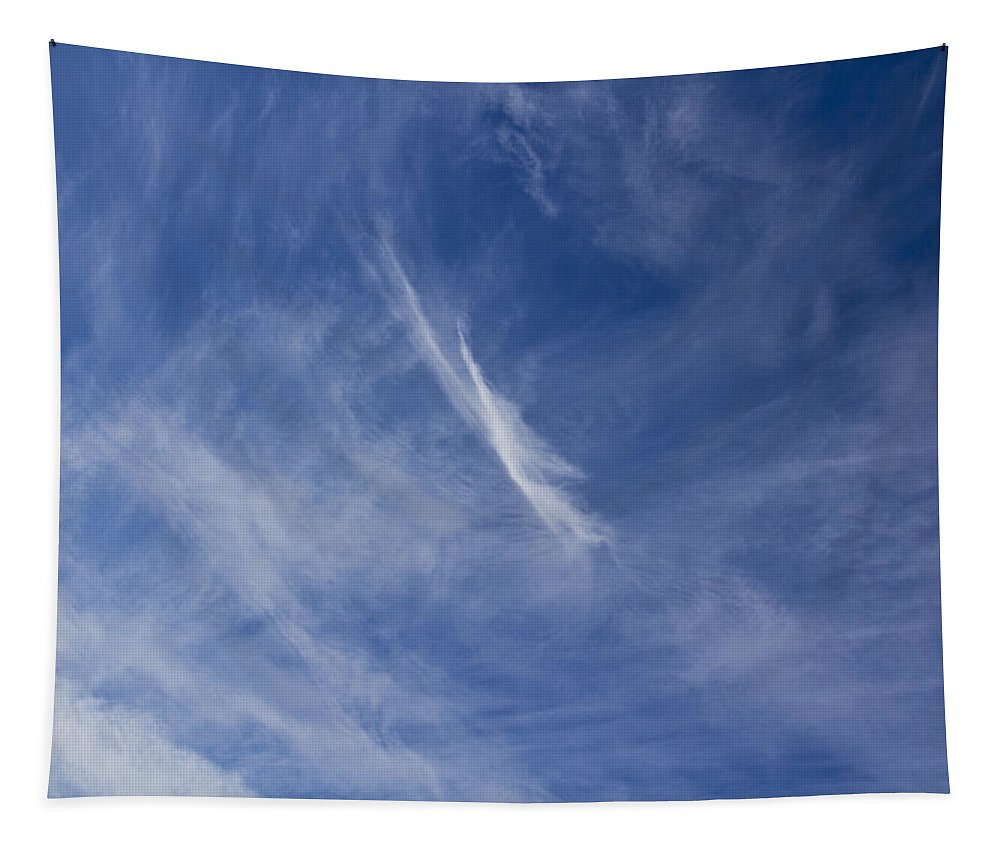 Clouds Tapestry featuring the photograph Summer Clouds by David Pyatt