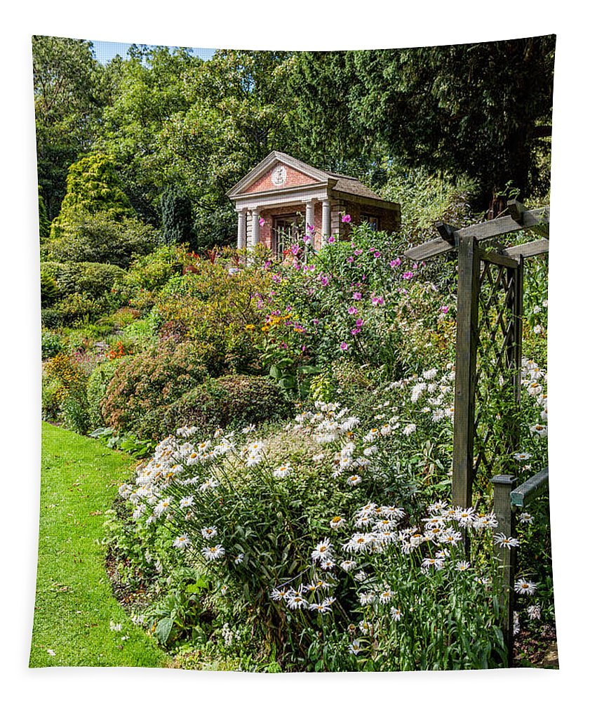 Summerhouse Tapestry featuring the photograph Summer House by Adrian Evans
