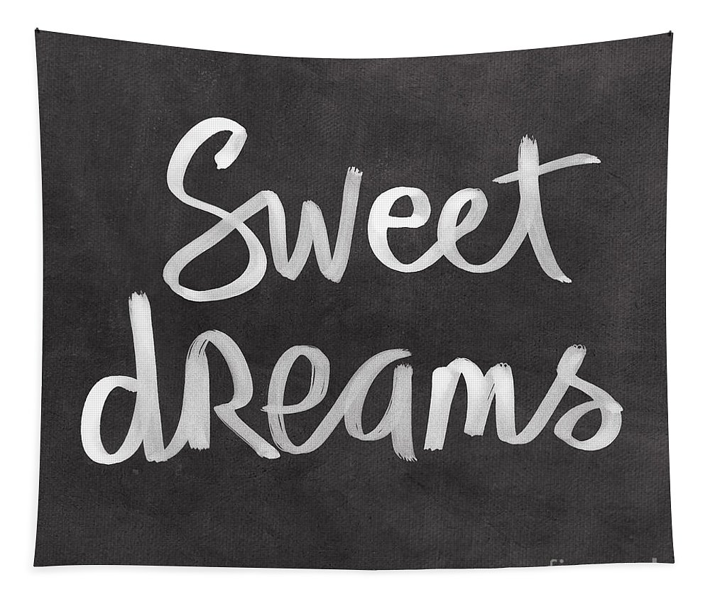 Dreams Tapestry featuring the mixed media Sweet Dreams by Linda Woods