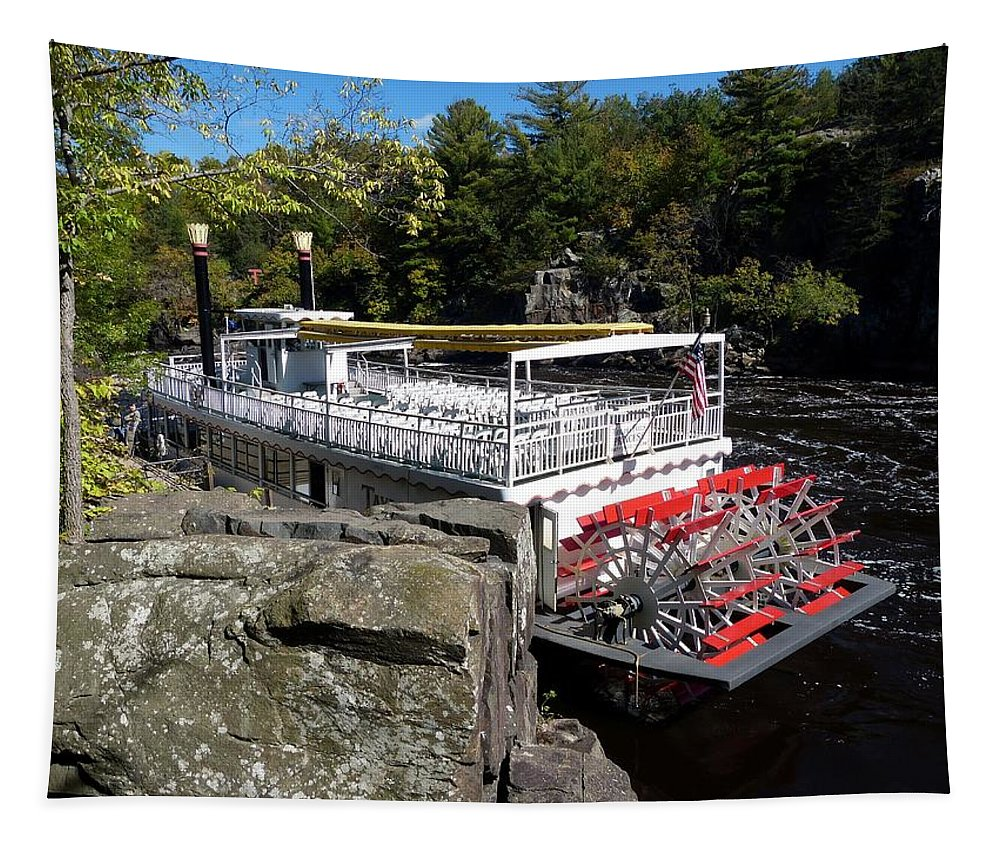 Taylors Falls Princess Tapestry featuring the photograph Taylors Falls Princess by Will Borden