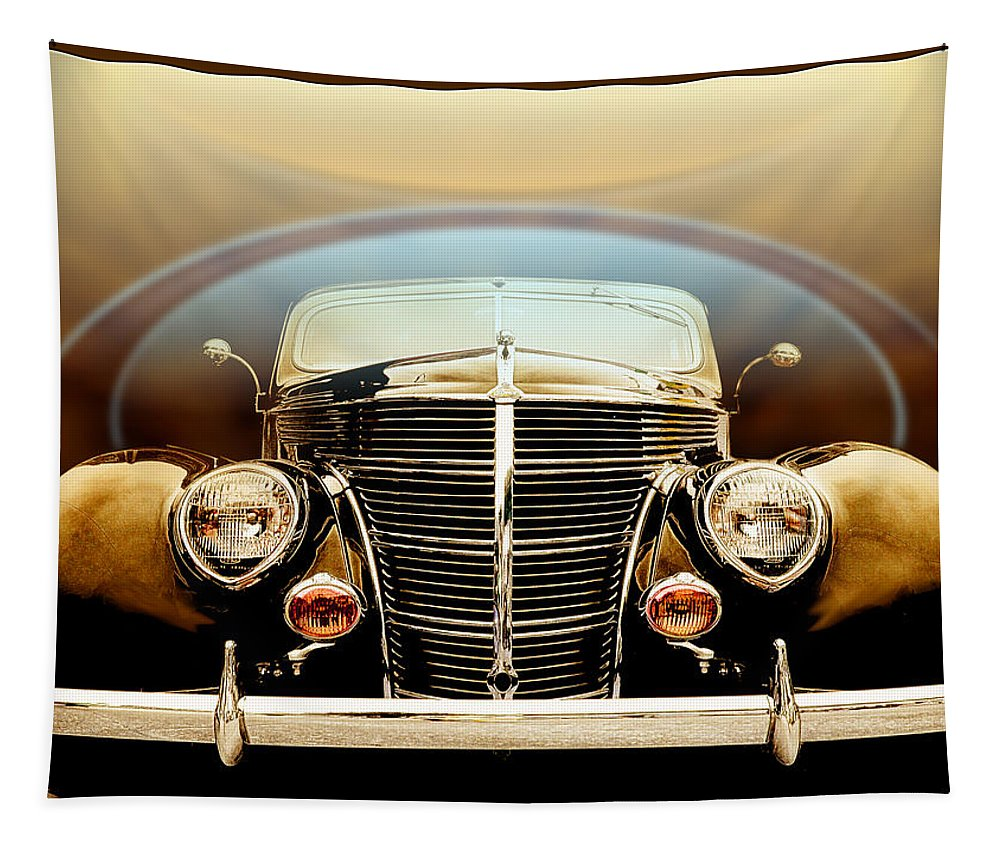 Custom Tapestry featuring the photograph Teardrops And Halos by John Anderson