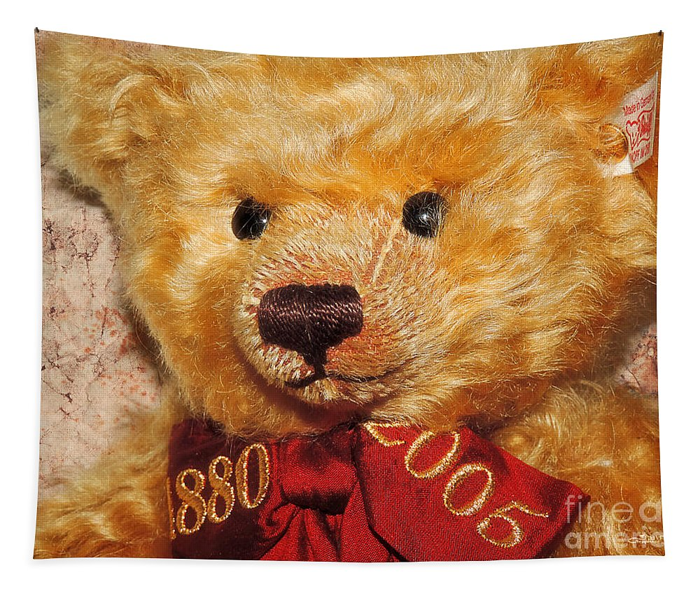 Photo Tapestry featuring the photograph Teddy's Anniversary by Jutta Maria Pusl