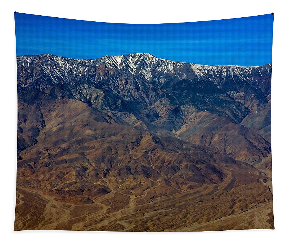 Death Valley Tapestry featuring the photograph Telescope Peak by Stuart Litoff