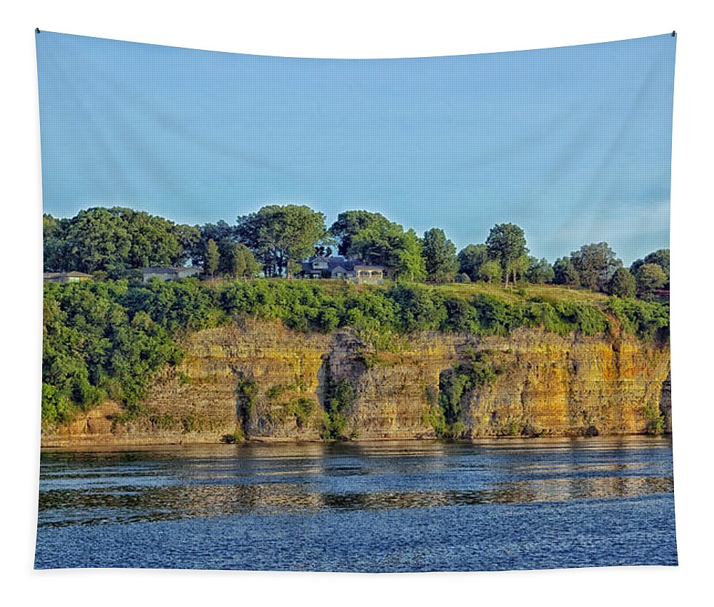 Tennessee River Tapestry featuring the photograph Tennessee River Cliffs by Mountain Dreams
