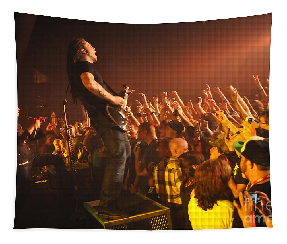 Tfk Tapestry featuring the photograph Tfk-trevor-ty-2708 by Gary Gingrich Galleries