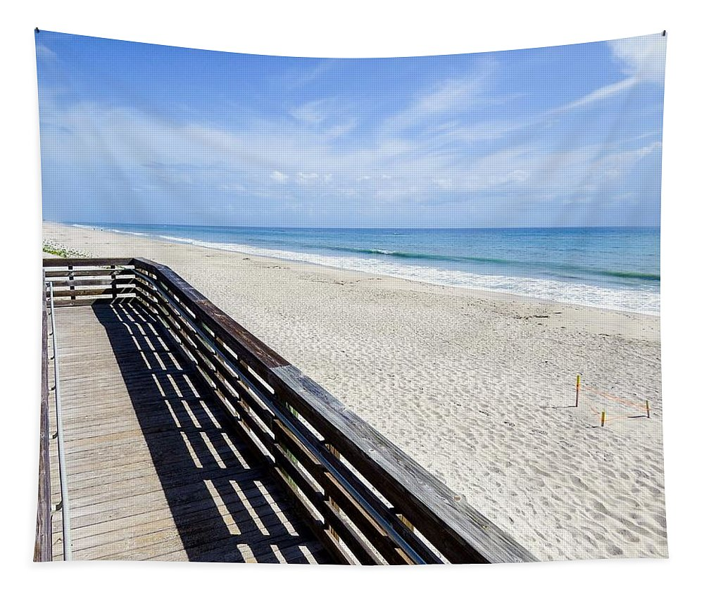 Beach Tapestry featuring the photograph The Beach II by Zina Stromberg