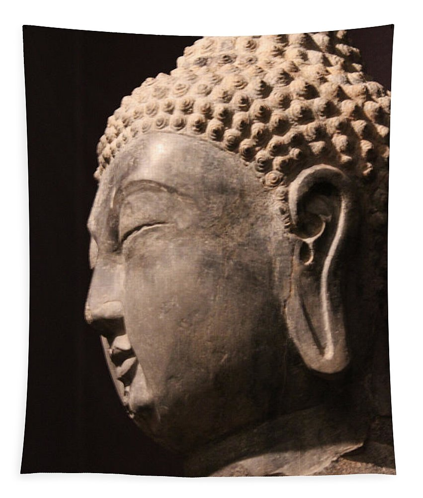 The Buddha Tapestry featuring the photograph The Buddha 2 by Lynn Sprowl