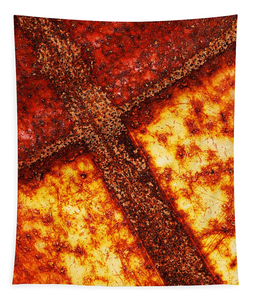 Wendy Tapestry featuring the photograph The Cross by Wendy Wilton