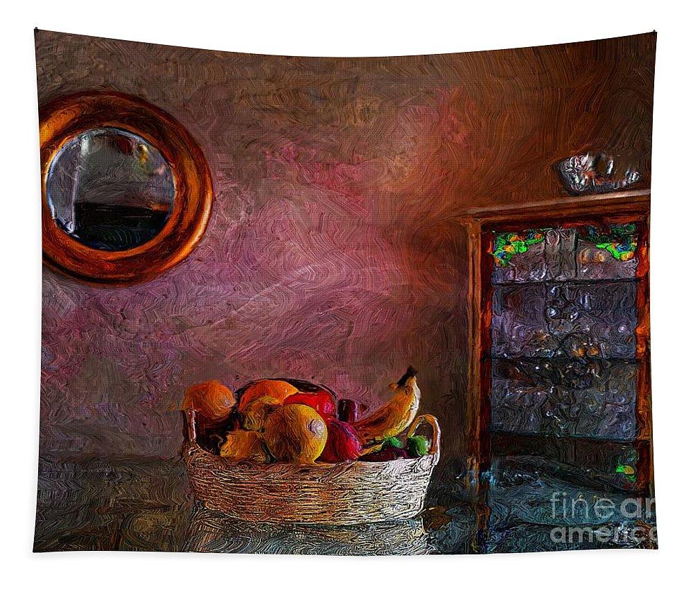 John+kolenberg Tapestry featuring the photograph The Dining Room by John Kolenberg