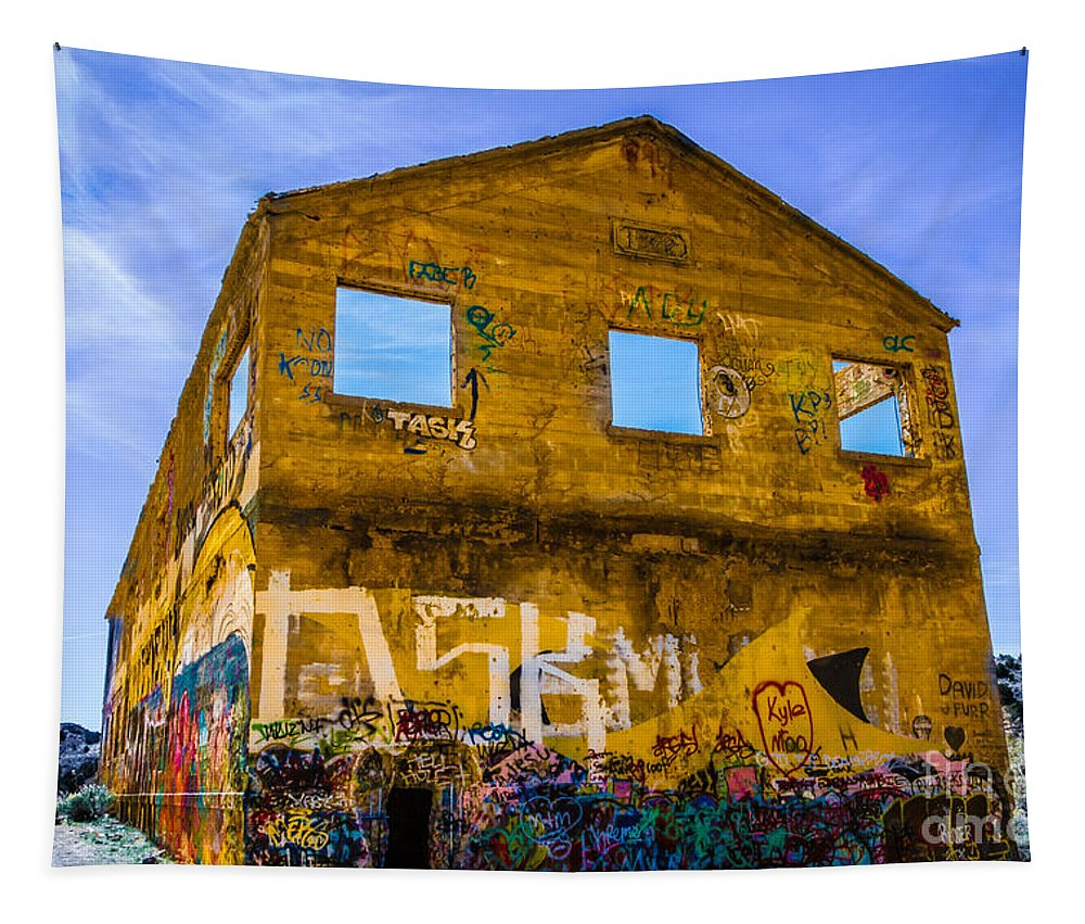 The Fun House Tapestry featuring the photograph The Fun House by Mitch Shindelbower
