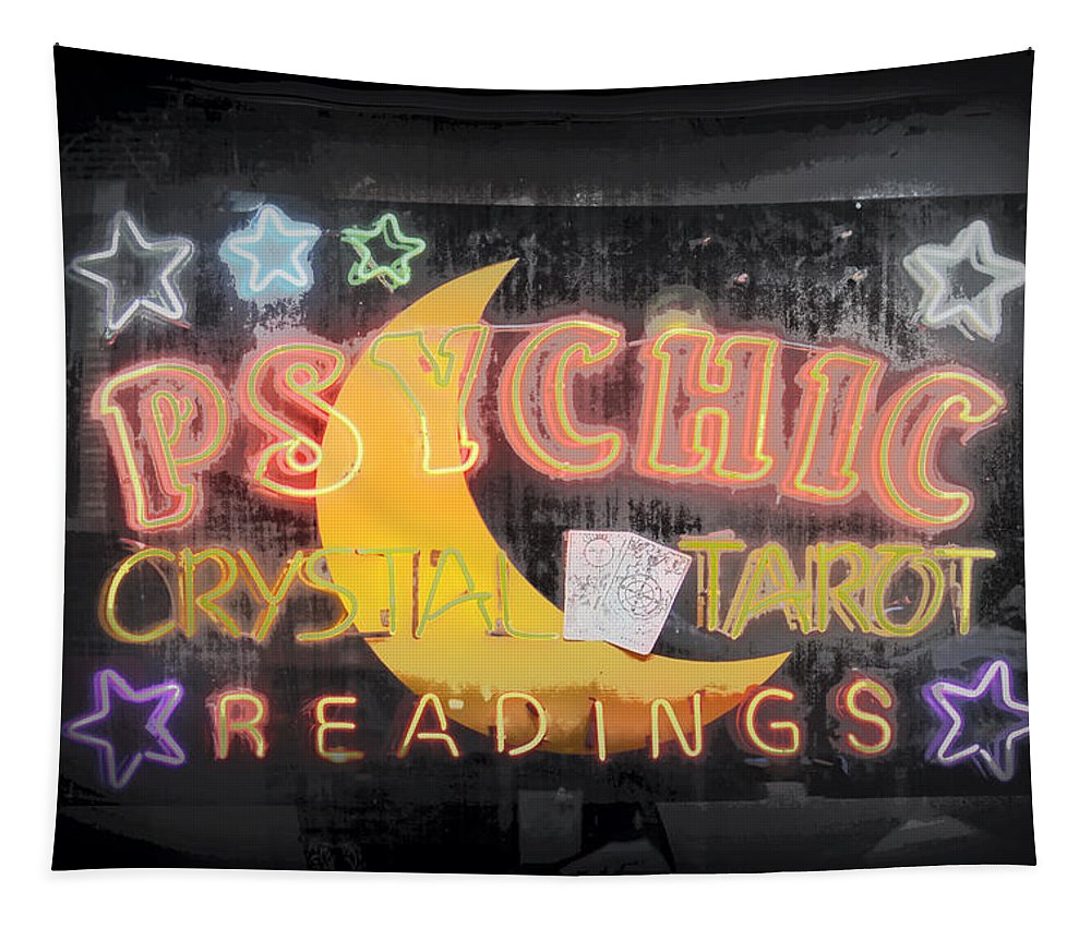 Psychic Tapestry featuring the photograph The Future by Lynn Sprowl