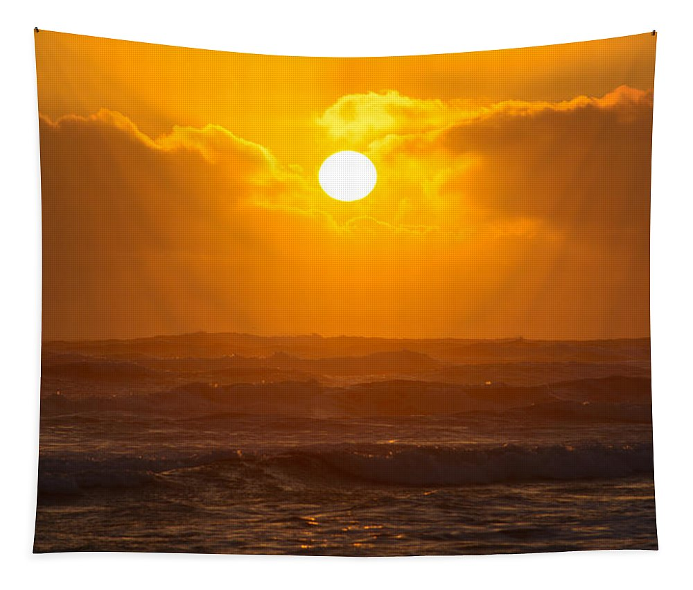 Sun Tapestry featuring the photograph The Glorious Son by Tikvah's Hope