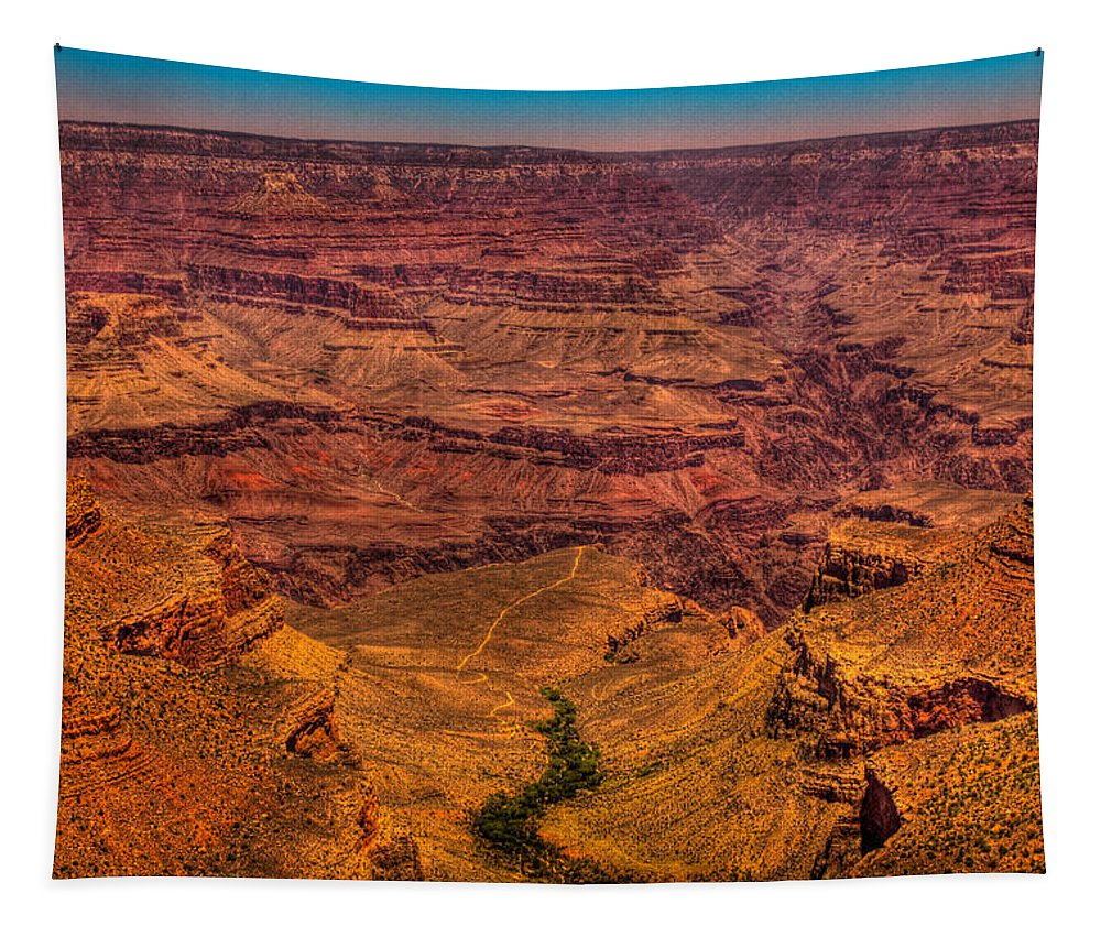 Grand Canyon Tapestry featuring the photograph The Grand Canyon by David Patterson