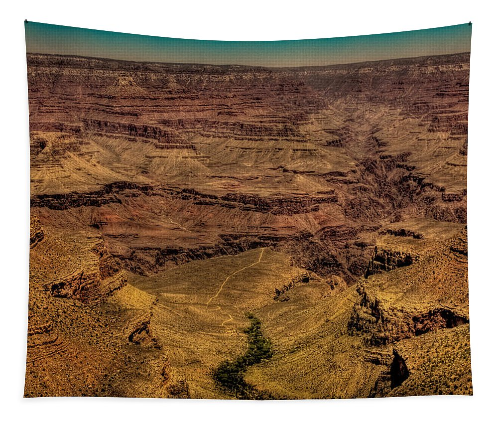 Grand Canyon Tapestry featuring the photograph The Grand Canyon IIi by David Patterson
