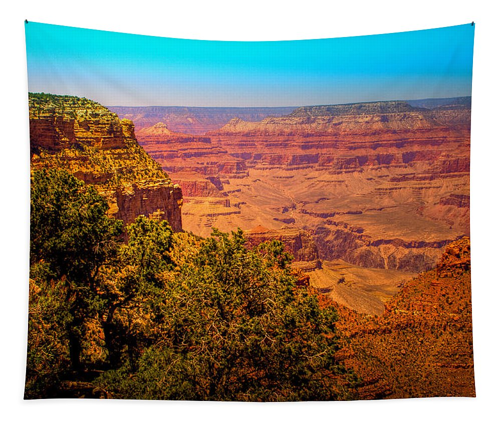 Grand Canyon Tapestry featuring the photograph The Grand Canyon Xi by David Patterson